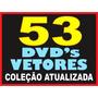 Gráfica Completa - 53 Dvds Vetores Imagens Corel Impressão