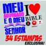 34 Estampas Gospel Exclusivas +brinde 1300 Vetores