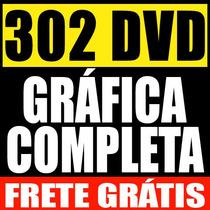 Mega Gráfica Completa - Vetor Imagem Mascara Digital Plotter