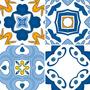 Vetores Azulejos Português Ladrilhos Corel Vetor - Todos
