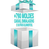 Vetores 0064 = + 790 Moldes De Caixas / Embalagens E Outros