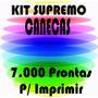 Kit Supremo Estampas Vetores Canecas Copos Xicaras Garrafas