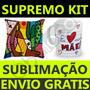Kit Premium Estampas Almofadas Chinelos Caneca Vetor Corel