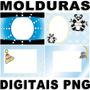 Molduras Digitais Para Fotos Arquivos Png