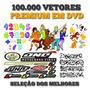 Dvd 100.000 Imagens Vetorizadas Super Premium - Envio Gratis
