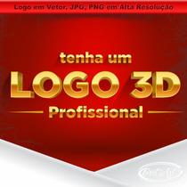 Logomarca 3d