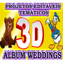 3d Album Weedings Projetos Editaveis P/after Effects