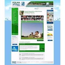 Script Site Jornal Portal De Noticias Folha Do Litoral