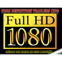 10 Dvd´s De Trailers Aberturas Full Hd 1920x1080