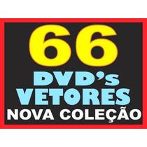 66 Dvds Imagens Alta Resolução Vetores Corel Plotter Gráfica