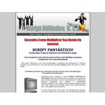Script Sistema De Afiliados Pro 2.0 Em Php