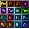 Todos Os Produtos Adbe Cc: Photoshop, Lightroom, Indesign...