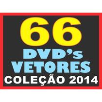 66 Dvds Imagens Alta Resolução Vetores Corel Estampa Gráfica