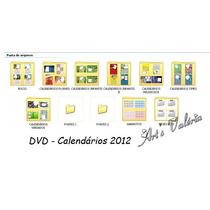 Dvd - Calendário Em Psd Editáveis