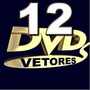 12 Dvds Vetores Adesivos De Parede Decorativos Recorte Corel