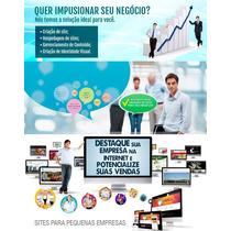 Construção De Web Site Completo Ou Loja Virtual Para Empresa