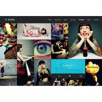 Template De Site Html5 Para Designers E Agências