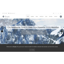 Template Html Para Empresas E Negócios Super Clean