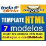 Kit Template Html P/ Anúncios No Mercado Livre E Toda Oferta