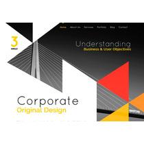 Template Site Html Para Designers Interiores, Arquitetos