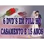 Aberturas De Vídeo Casamento E 15 Anos Em Full Hd