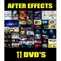 Projetos After Effects - 11 Dvds Lotados