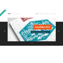 Template Site Html Para Agências E Designers Única Página