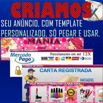 Template Personalizado + Logomarca Para Mercado Livre