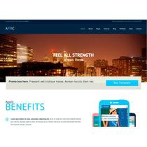 Template Site Wordpress Para Site De Tecnologia E Negócios