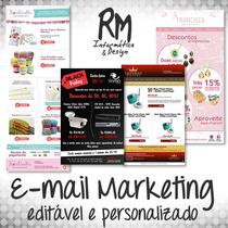 Template Editável Personalizado Html P/ E-mail Marketing