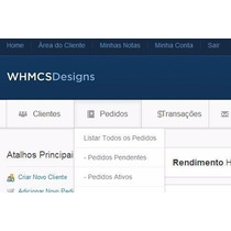 Script Admin Whmcs