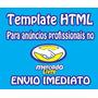 60 Templates Editável Html Anuncio Profissional Mercadolivre