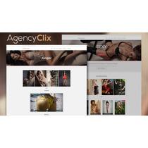 Template Para Site De Acompanhantes - Agencyclix Wordpress