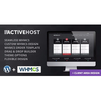 Tema Active Host - Wordpress + Whmcs Hosting