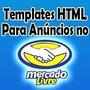 Template Editavel Html Anuncio Mercado Livre Profissional