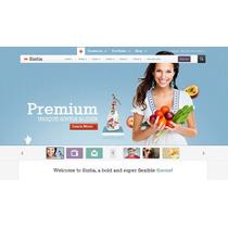 Template Site Wordpress Multiuso Para Empresas E Negócios