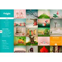 Template Site Wordpress Para Portfólio, Designers, Agências