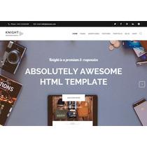 Template Site Html Para Empresas E Negócios Moderno