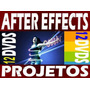 Projetos After Effects Totalmente Editaveis 12 Dvd´s 1080p