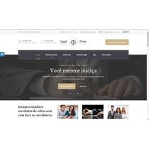 Site Para Advogados E Escritórios De Advocacia Em Wordpress