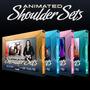 Coleção Completa Animated Shoulder Sets - Sony Vegas
