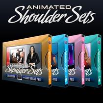 Cenários Virtuais Animados Editáveis - Sony Vegas 4 Volumes!