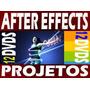 Projetos Editáveis After Effects Fullhd Em 12 Dvd Frete Grát