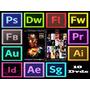 Adbe Cs6 Mc Mac Ou Win Frete Grátis 10 Dvds + Edição Pro
