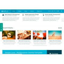 Template Site Joomla Para Empresas E Negócios Simples