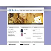 Site Script Php Institucional Empresa Comércio Loja Editavel