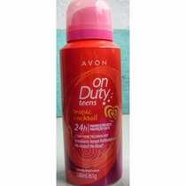 Avon Desodorante Aerosol On Duty Teens Tropic Cockail