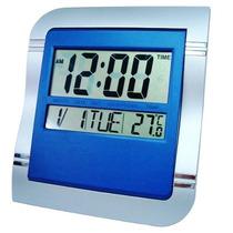 Relógio De Mesa Ou Parede Digital C/ Termômetro Despertador
