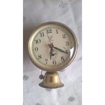 Relógio Despertador A Corda China White Para Reparo
