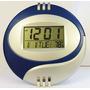 Relógio De Parede E Mesa 4x1 Despertador, Calendario Alarme